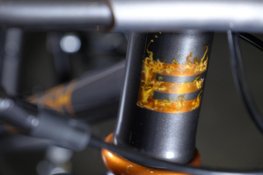 English  Cycles Right 29 headtube