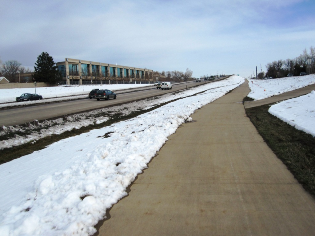Highway, or clear empty path. You decide.