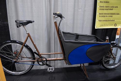 joe bike cargo belt drive