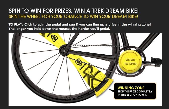Spin the Belt Drive, Win a Trek During Tour de France Contest