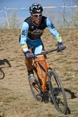 Carlos racing atop his bicycle equipped with Gates Carbon Drive belt system