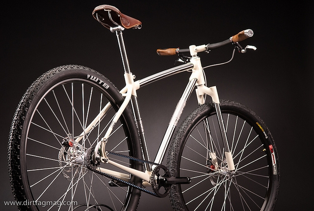 With a Gates Carbon Drive, a Rosene bike won rookie of the year honors at the North American Handmade Bike Show.