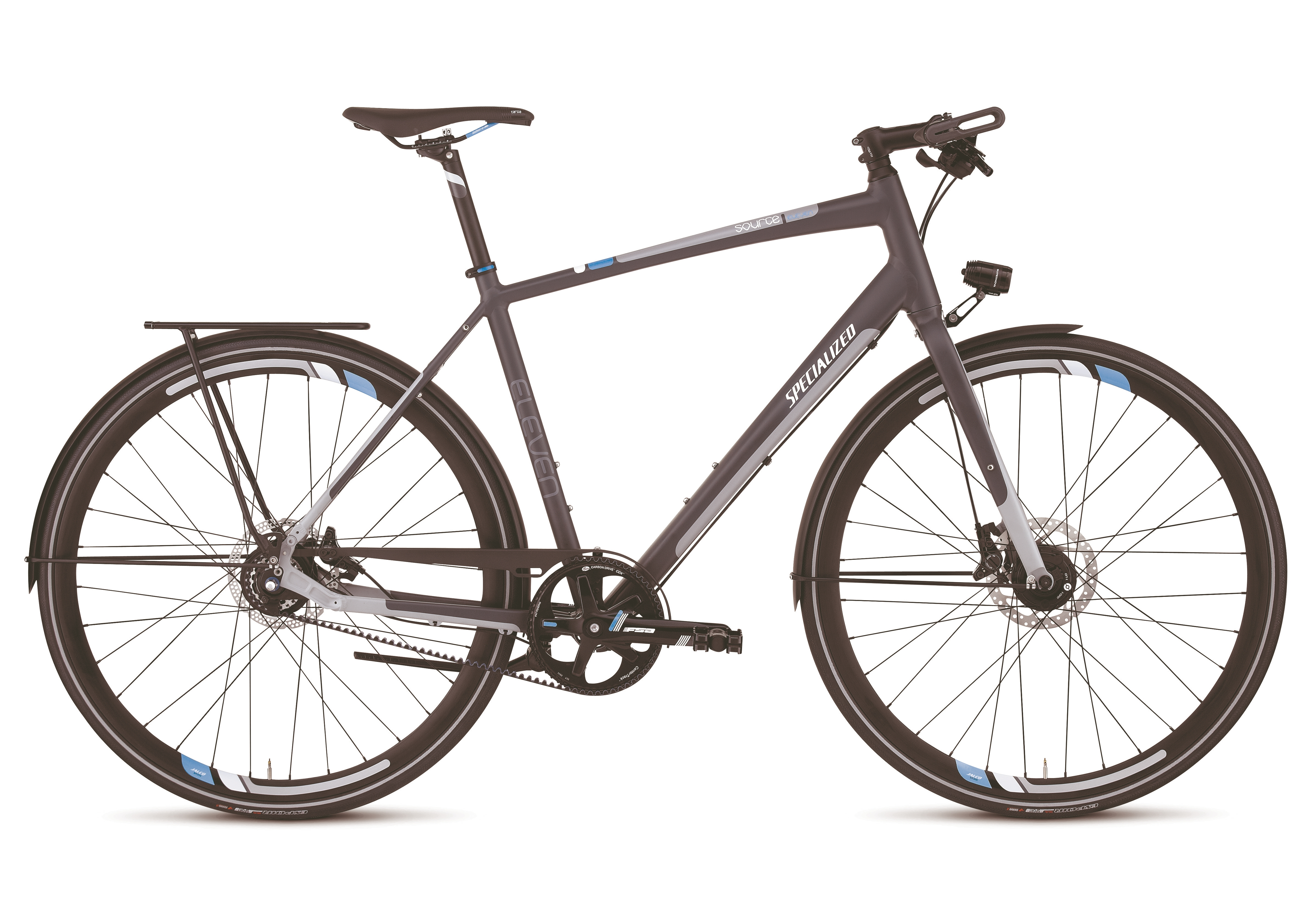 The Source 11 urban commuter bike with Gates CenterTrack drive will be featured at the Eurobike 2011 tradeshow.
