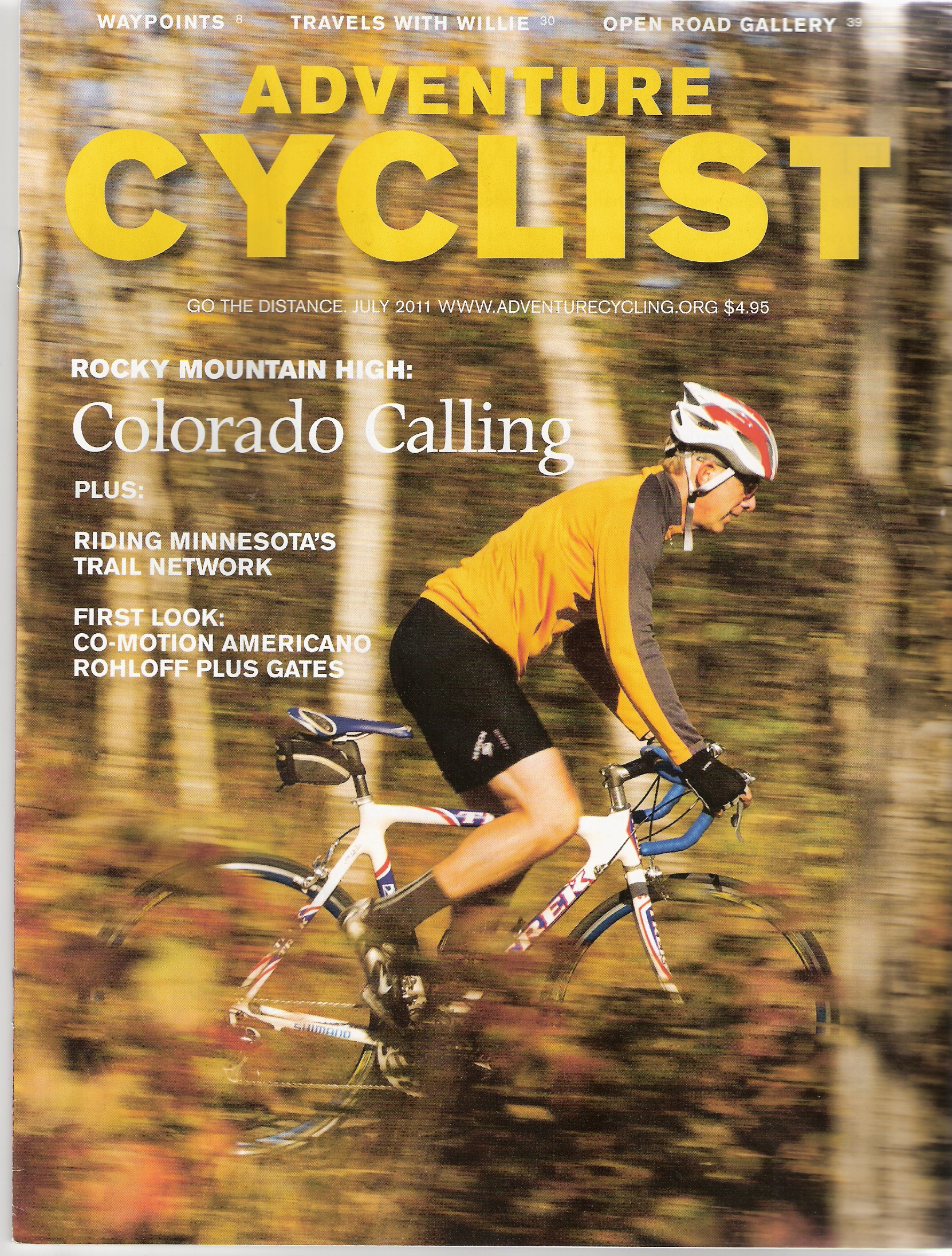 Adventure Cyclist Magazine highlights the Co-Motion Americano Rohloff bicycle with Gates Carbon Drive.