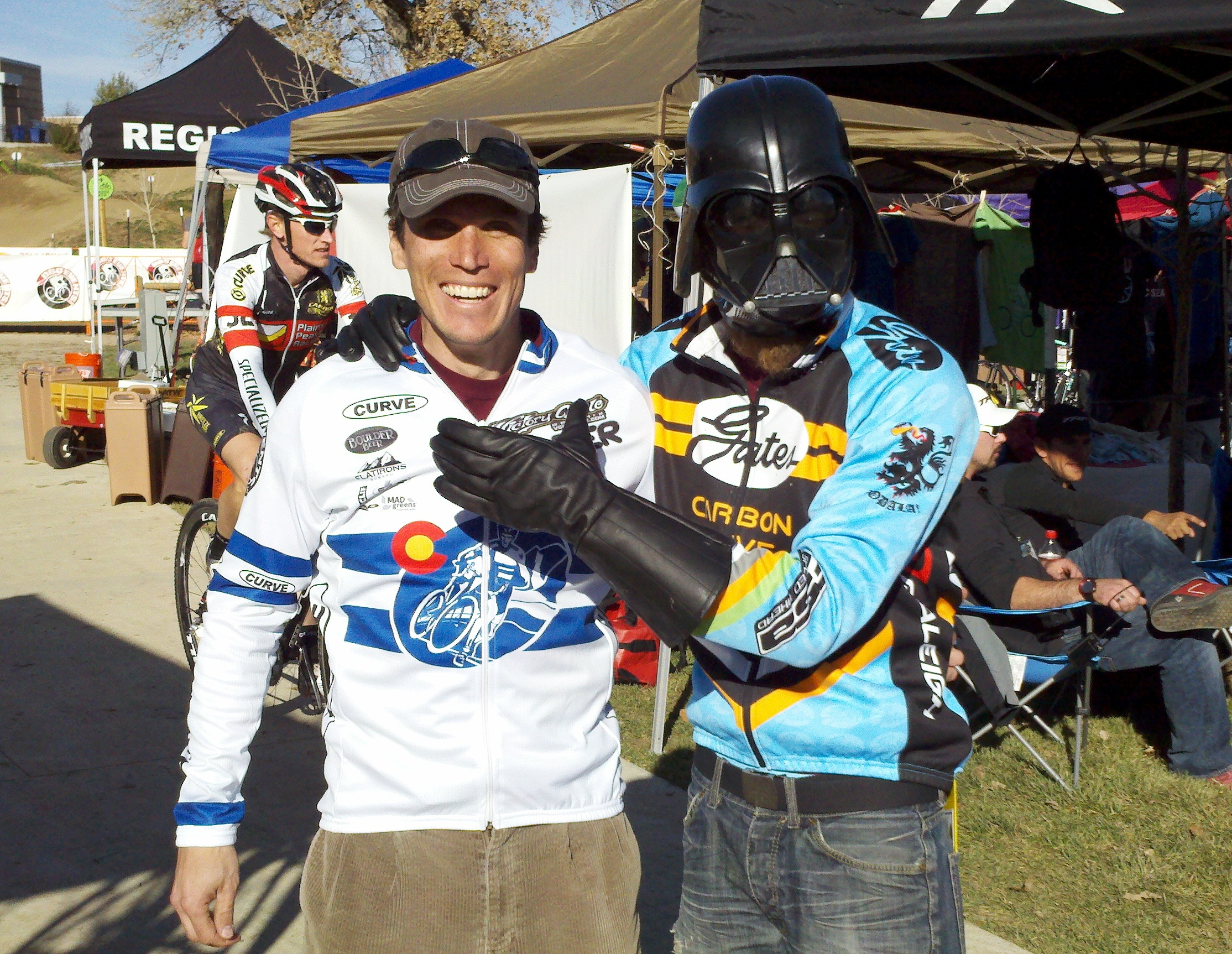 Cross race winner from Team Gates Carbon Drive