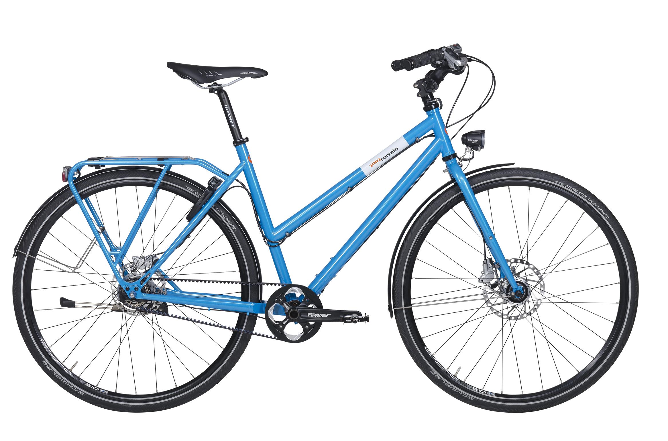 Belt Drive Bike Spotlight Tout Terrain Takes You From
