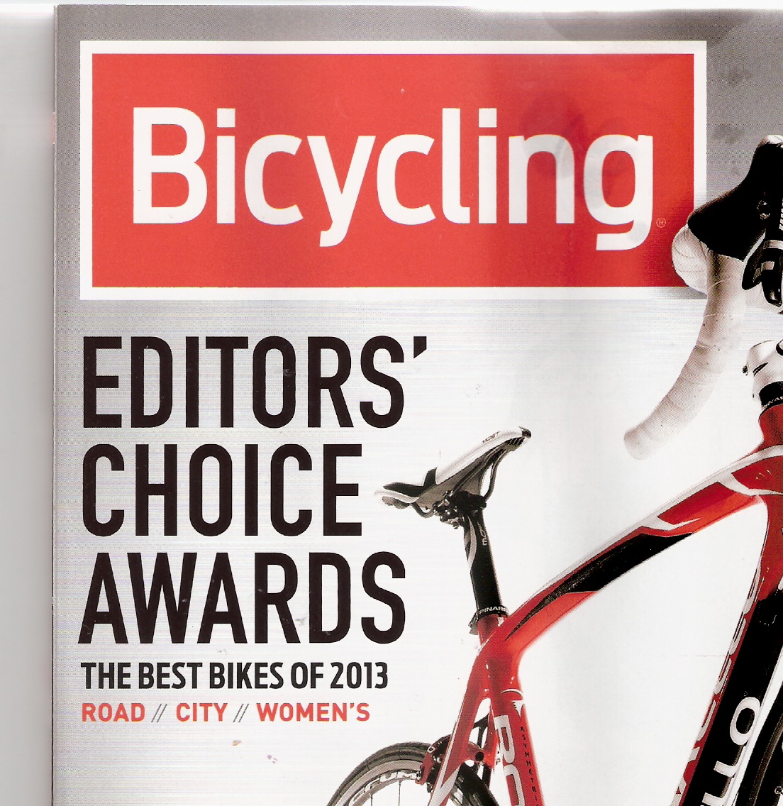 Bicycling June 2013 Eds Choice Cover