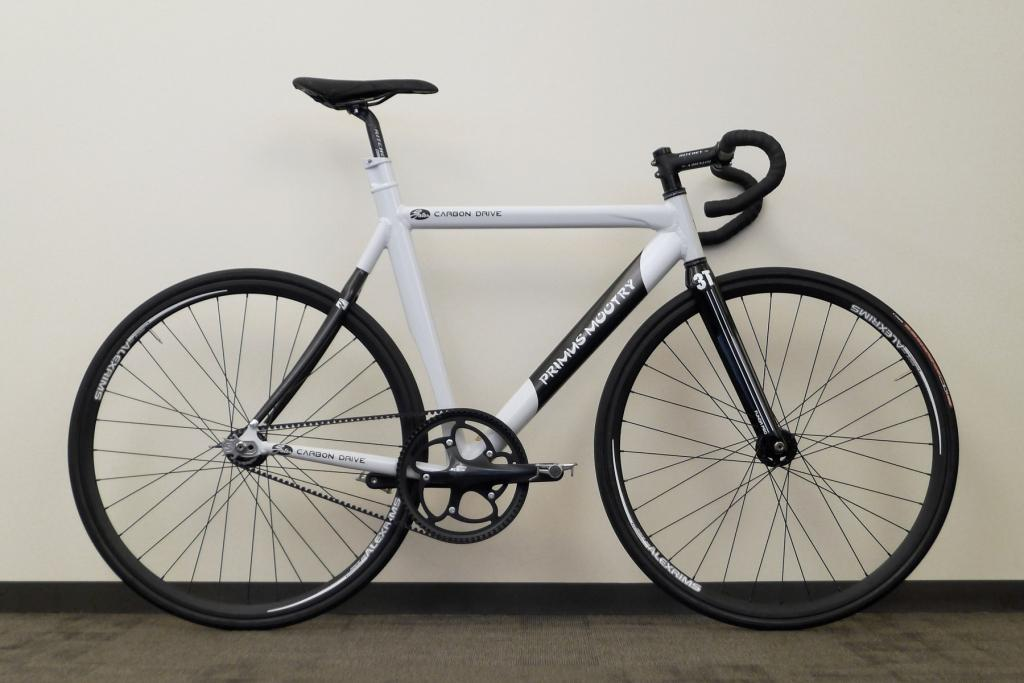 Belt Drive Track Bike, Featuring the Beast Sprocket | Gates Carbon Drive
