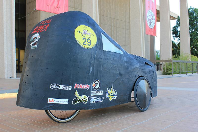 Cal Northridge trike with shell