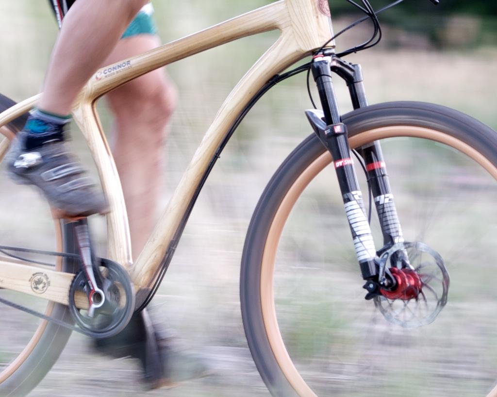 Connor Wood Leadville bike motion