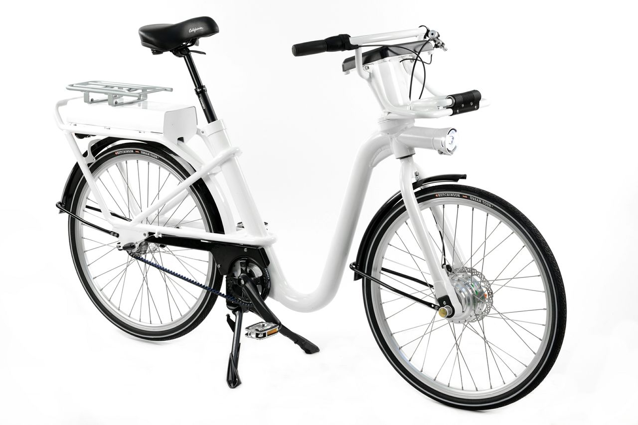 The GoBike, Copenhagen's new urban bike share bicycle, exemplifies the growing use of Gates Carbon Drive on eBikes