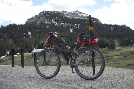 s bike loaded