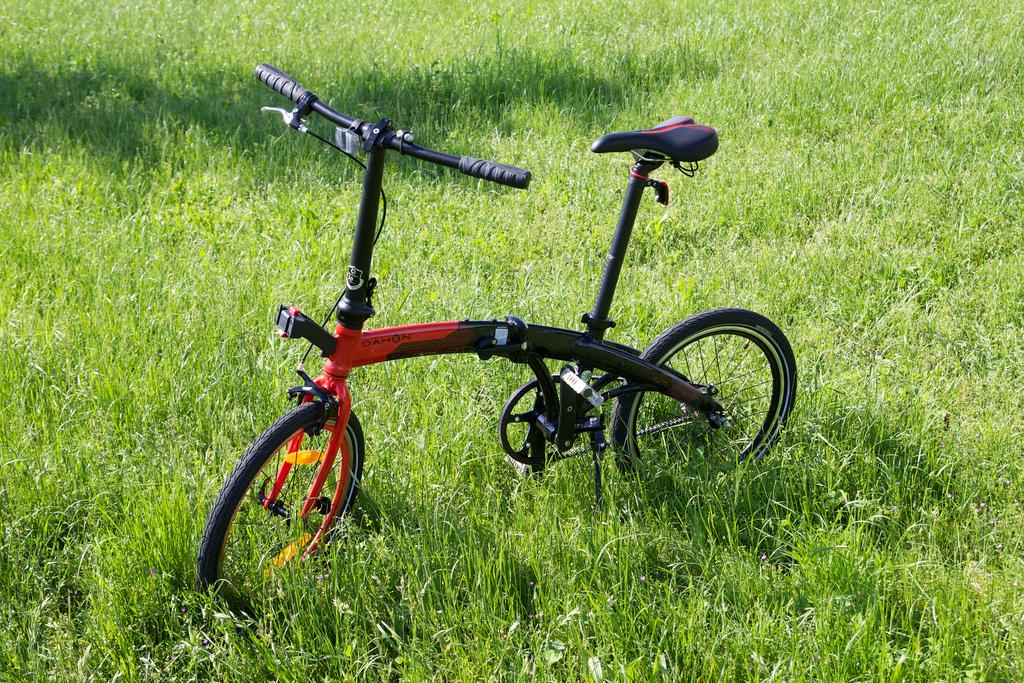 Dahon Mu complete bike in field