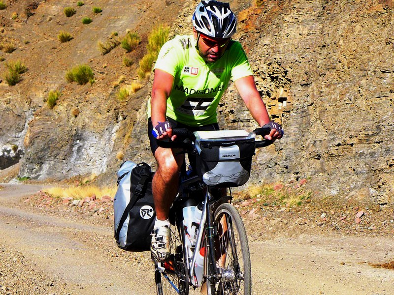 Kapp to Cape Reza climbing hill