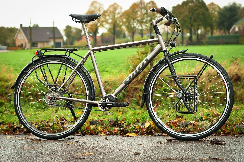 Pilot Cycles Pinion trekking bike