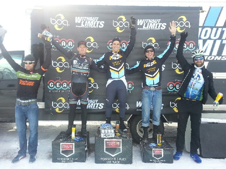 Mitch Westall and Taylor Jung take 1st and 3rd in the Shimano Cyclo X Series