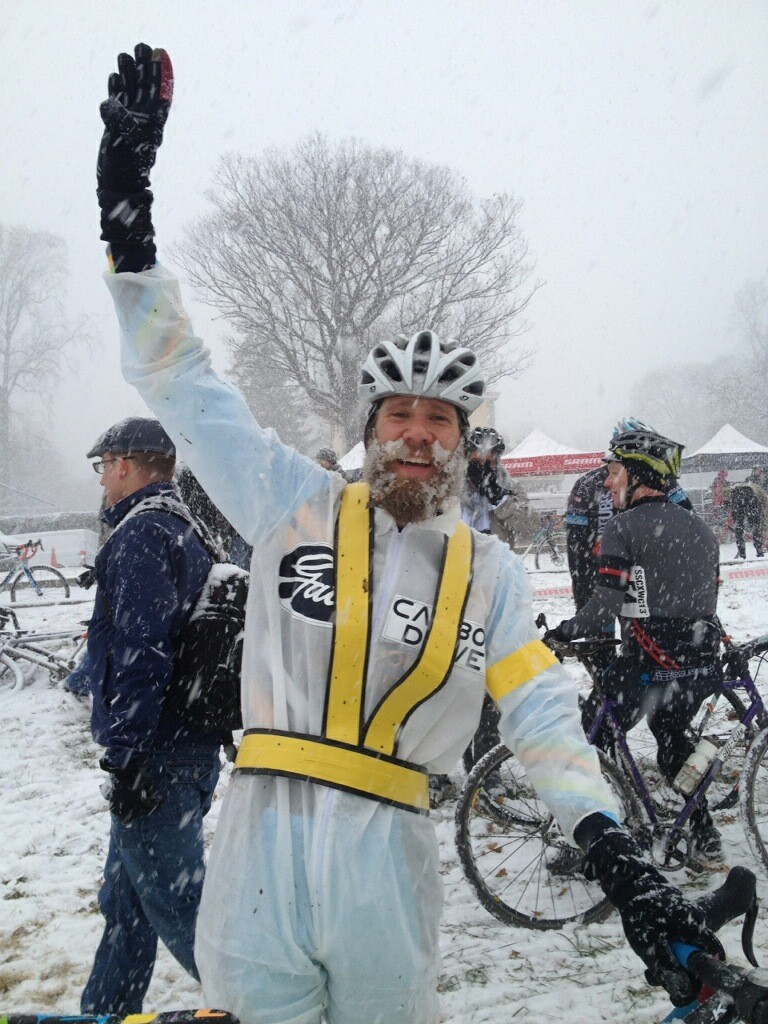 Fourth place for Jesse Swift at SSCXWC '13!