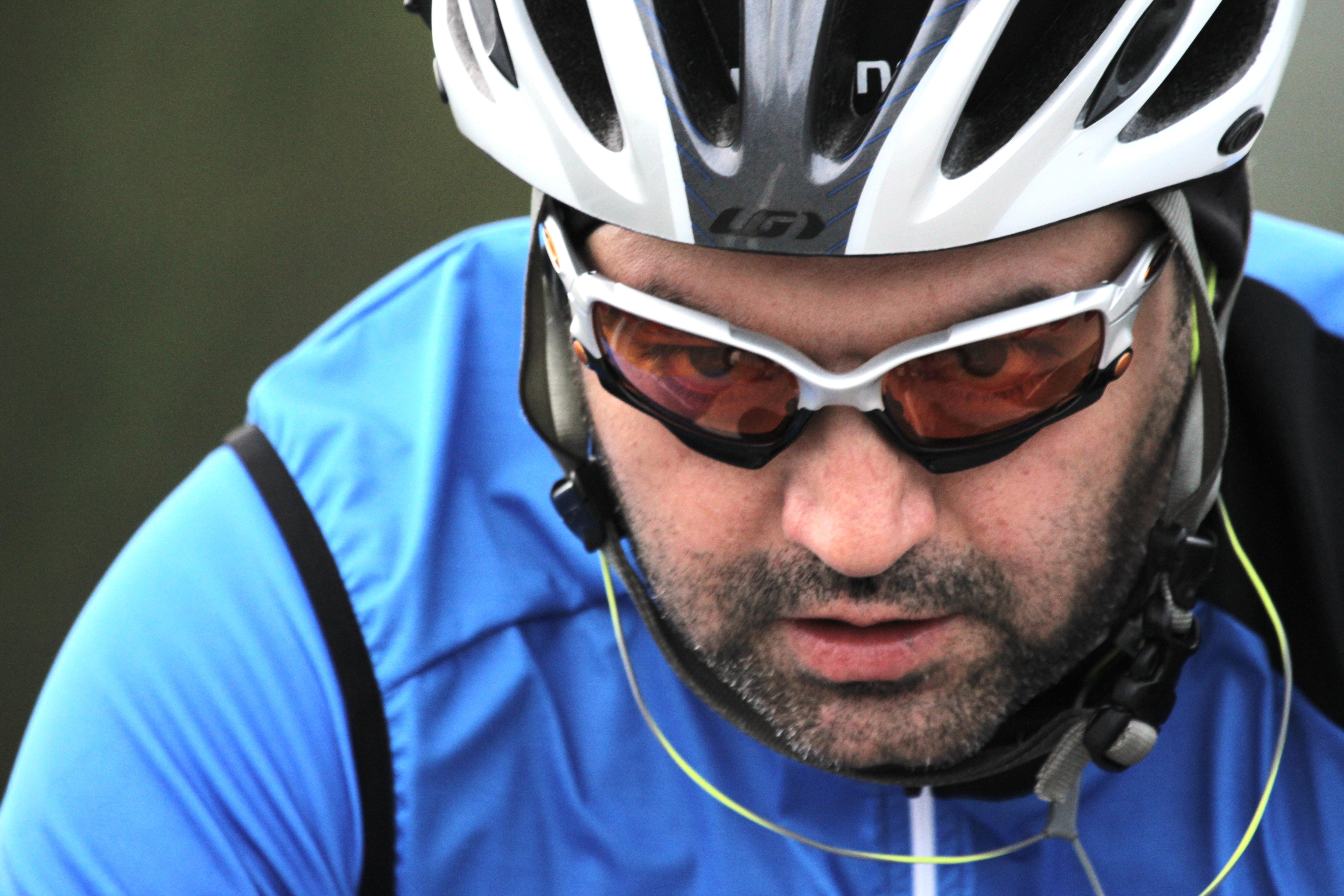 Reza headshot determined look