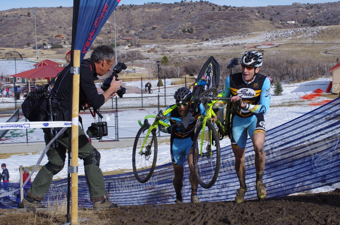 Jesse Swift and Ryan McFarling battle to 4th and 5th at the Colorado State Championships - Photo credit Pedaldancer.com