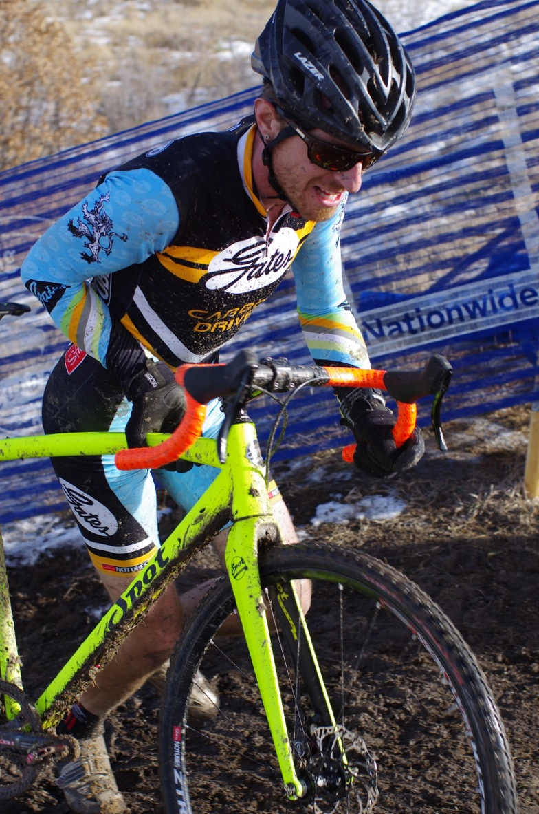 The Gates Carbon Drive CDX system excels in muddy conditions - Photo credit Pedaldancer.com
