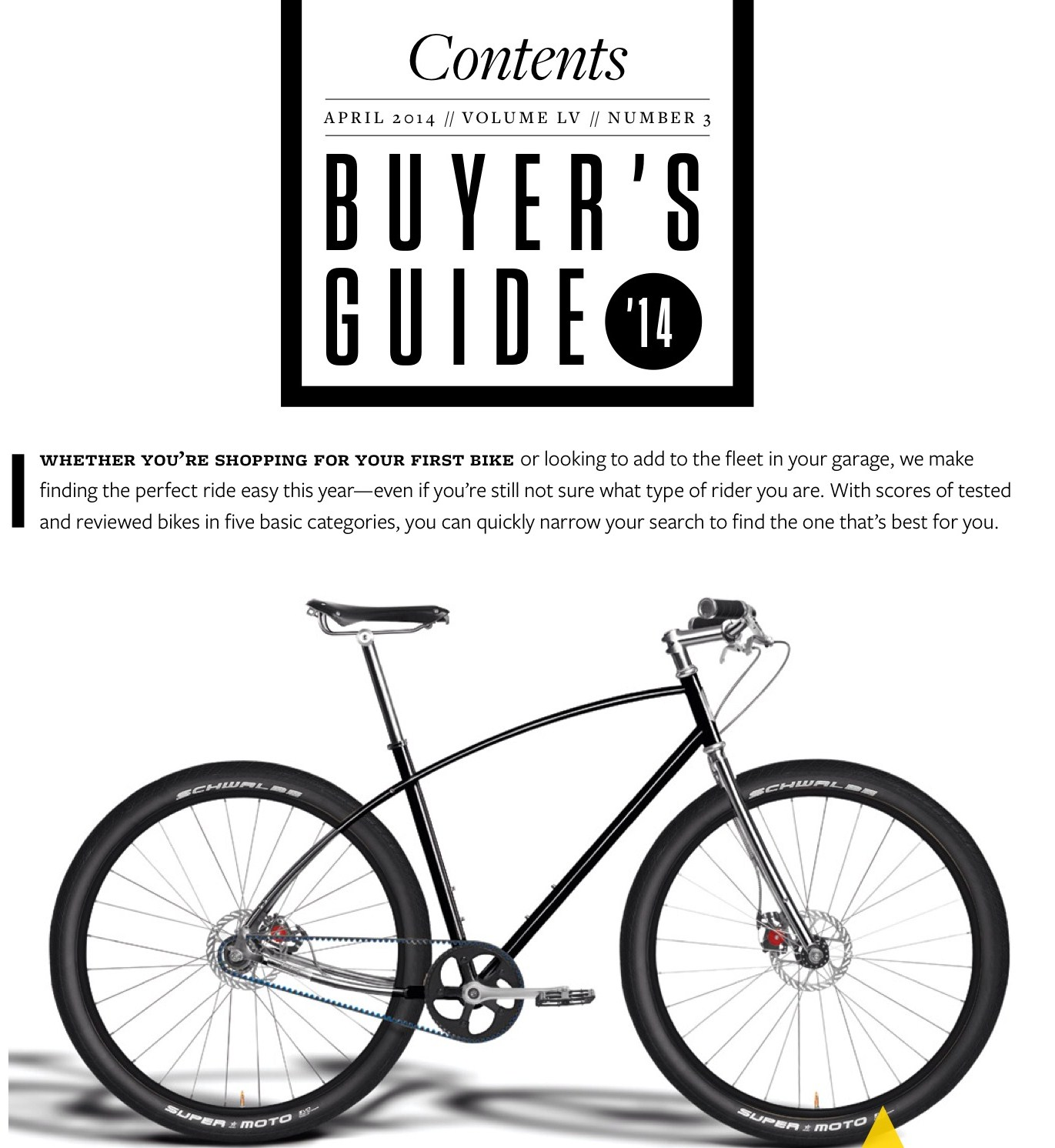 bicycling magazine rides the budnitz no 3 gates carbon drive rh blog gatescarbondrive com Bicycle Buyer's Guide Bicycle Buying Guide 2013