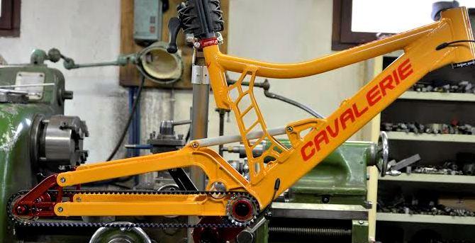 Cavalerie Orange Squirrel frameset