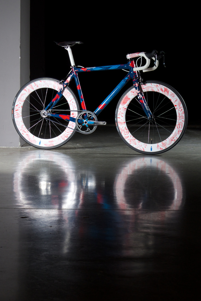 Festka bicycle with Gates Carbon Drive belt system