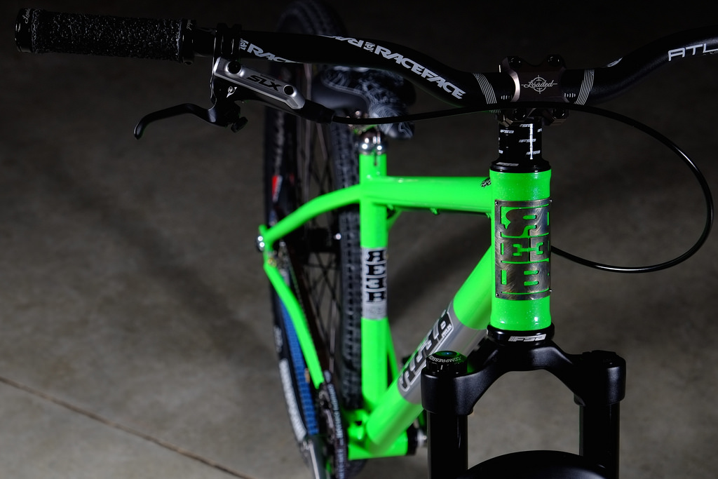 REEB bicycle with Gates Carbon Drive belt system