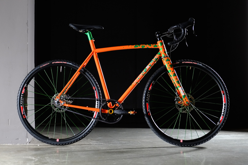 Shamrock Cycles bicycle with Gates Carbon Drive belt system