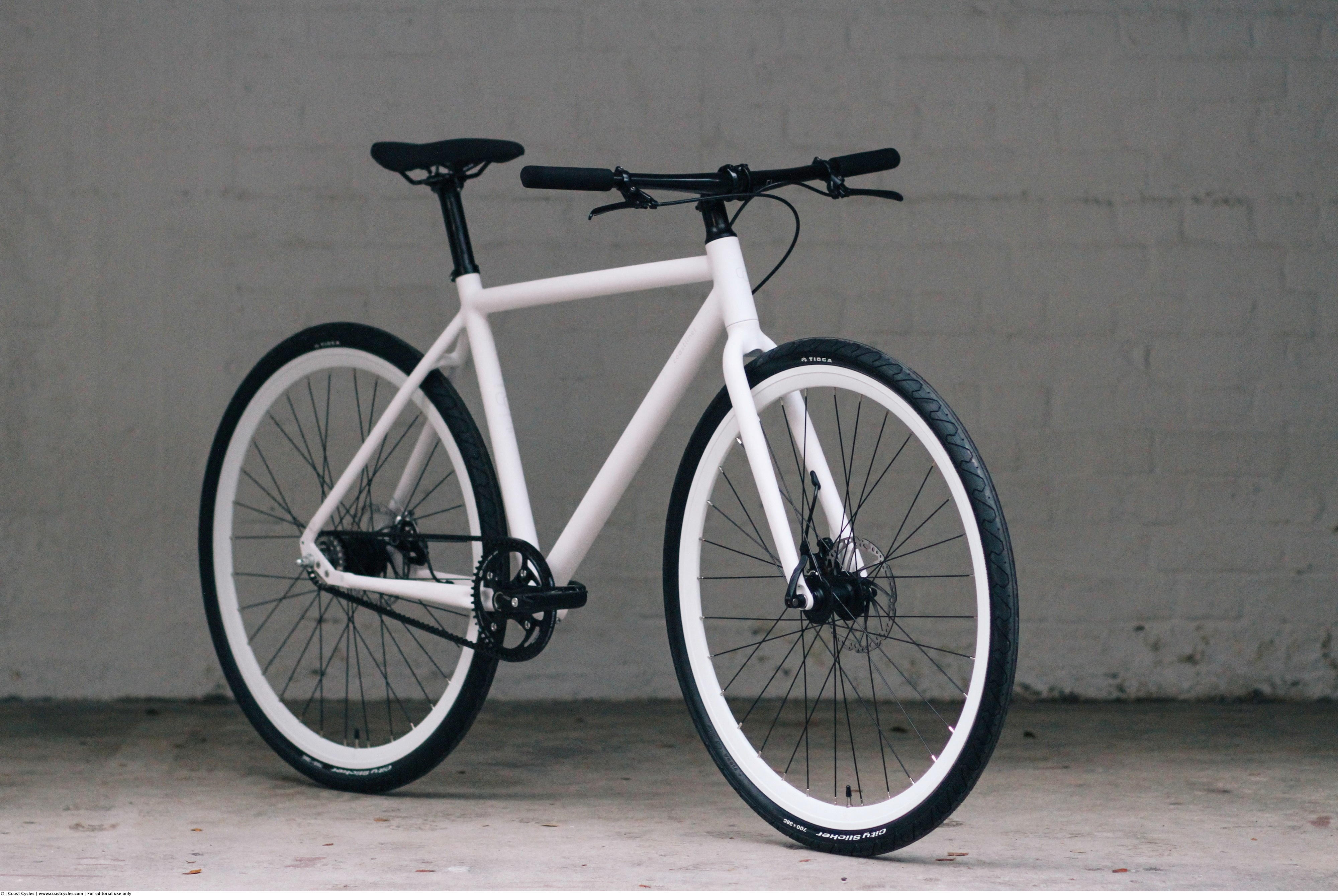 Coast Cycles Coastliner_white profile