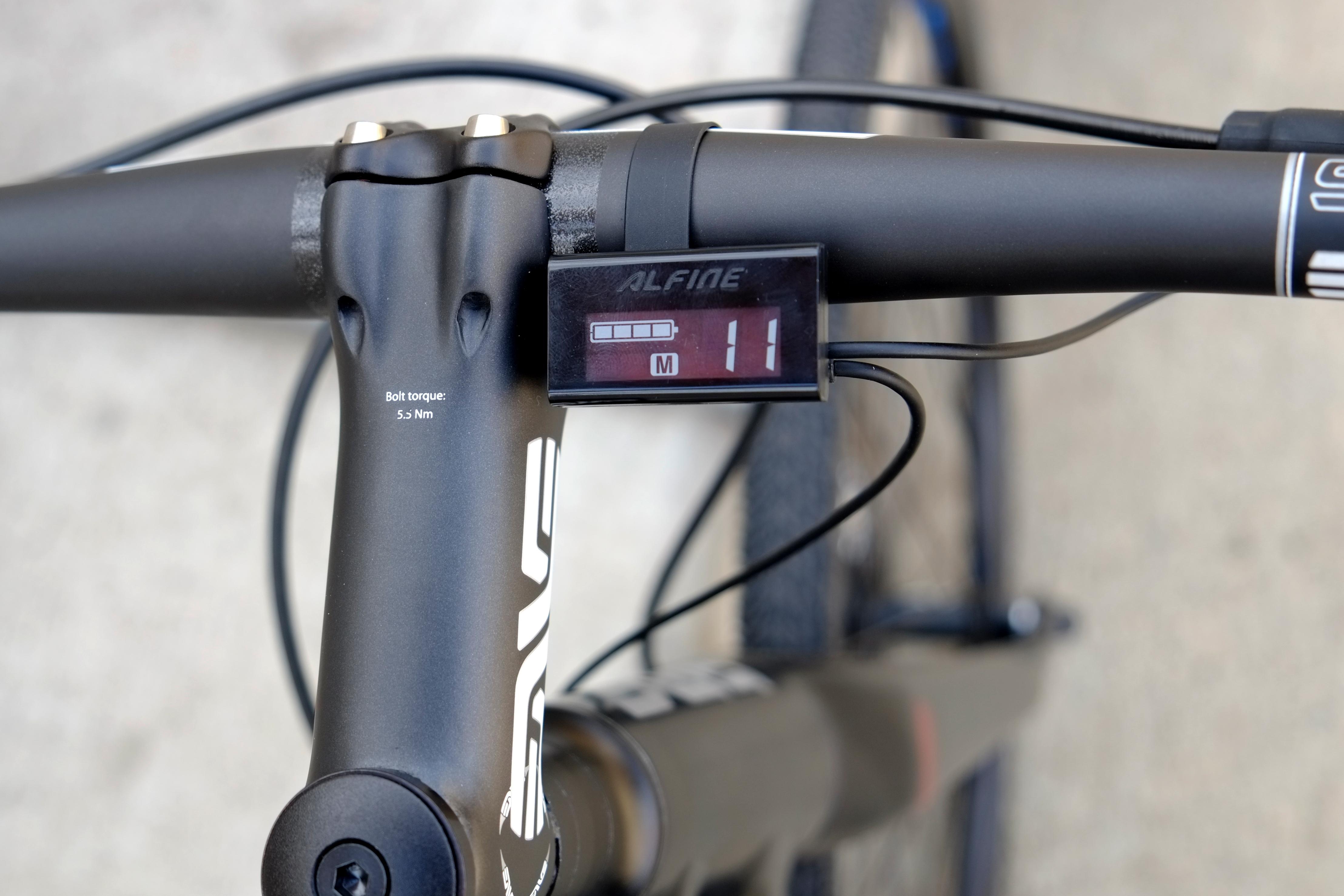 s bike Di2 bars