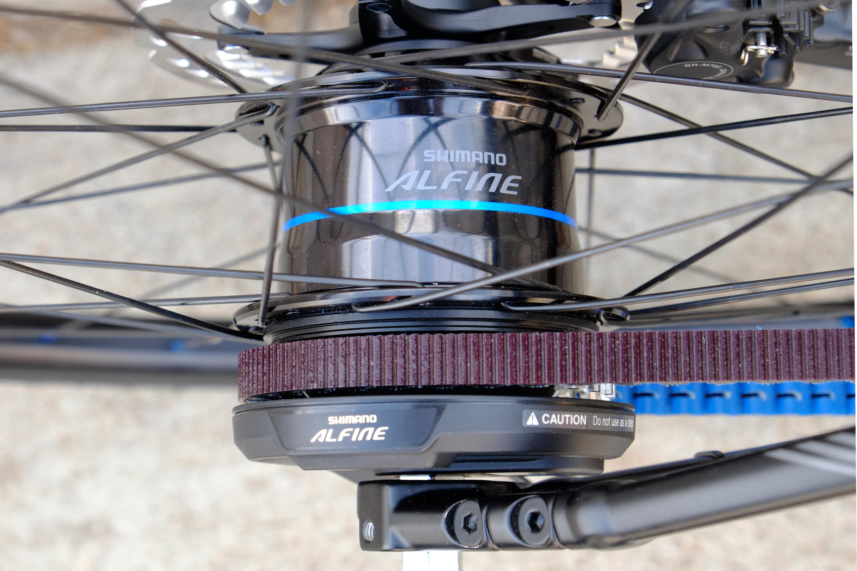 s bike Di2 hub