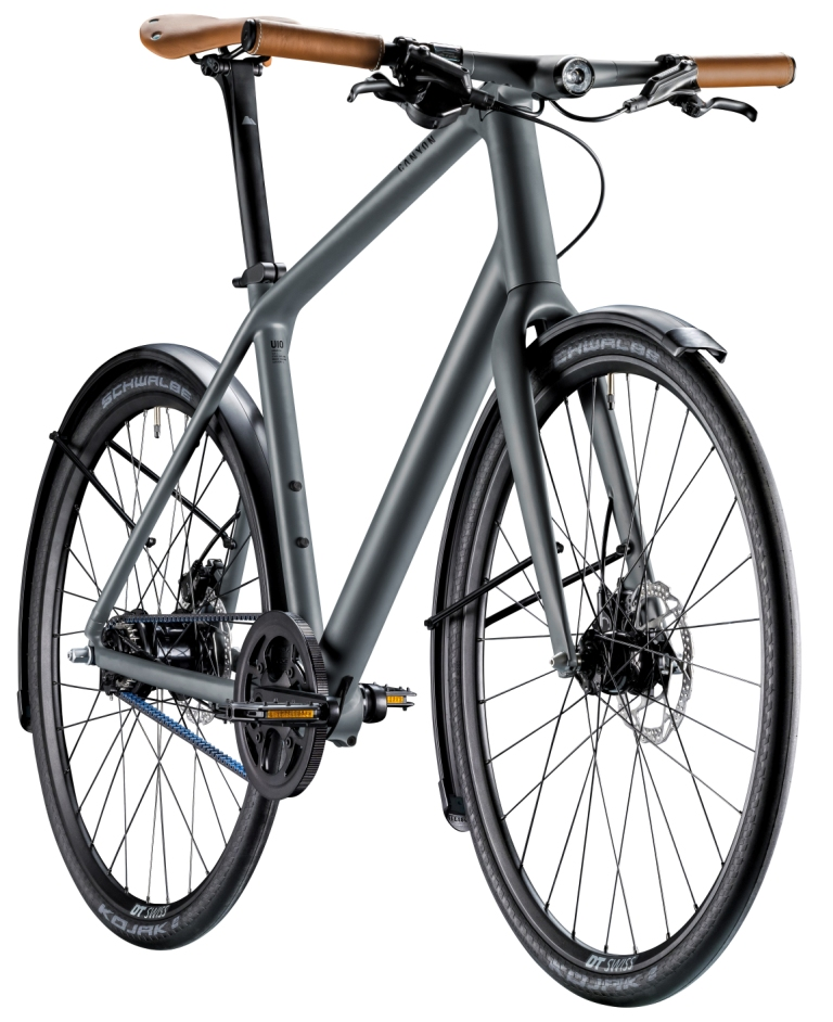 Canyon COMMUTER 7.0 side view (grey)