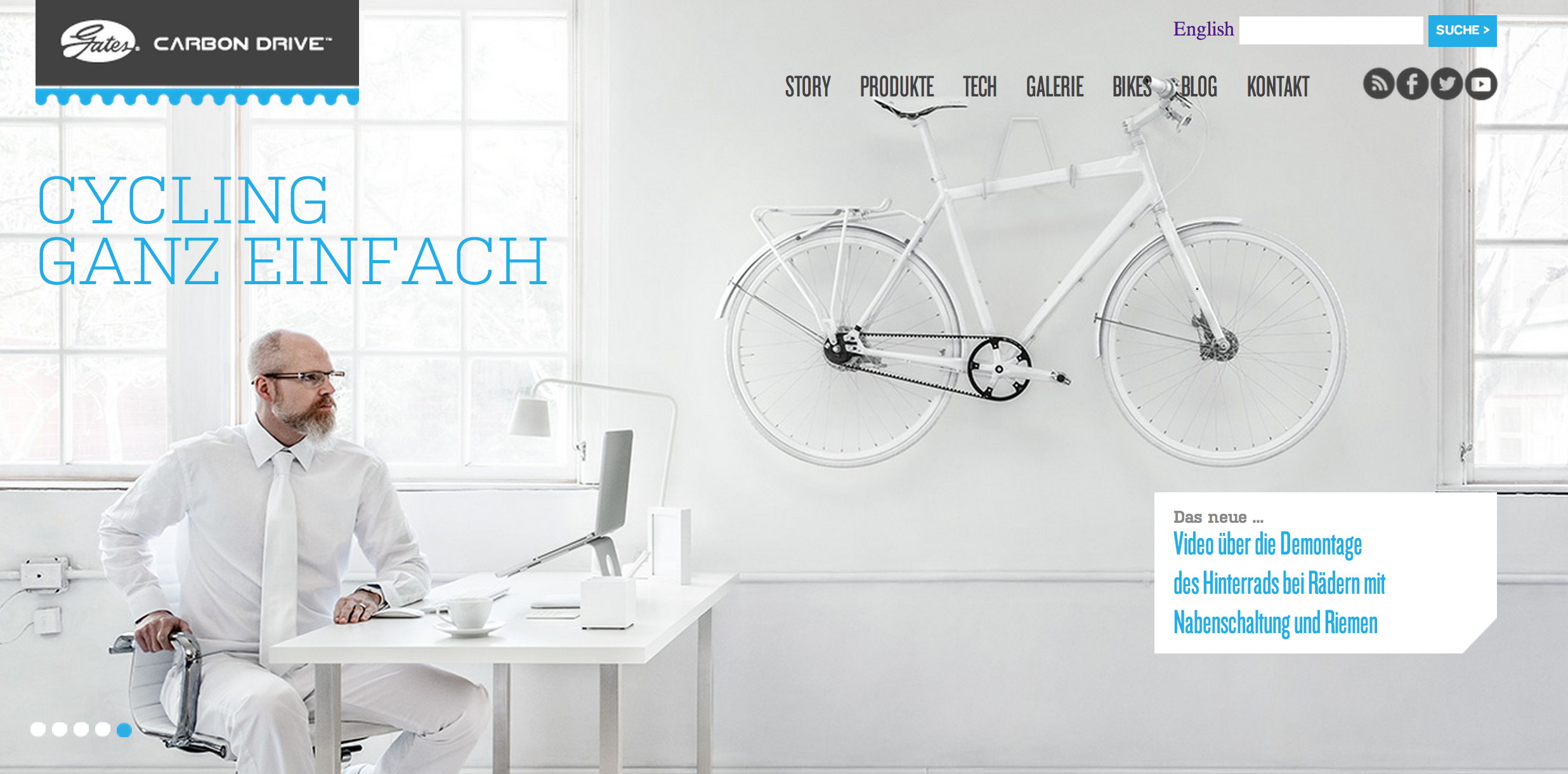 Gates German website image