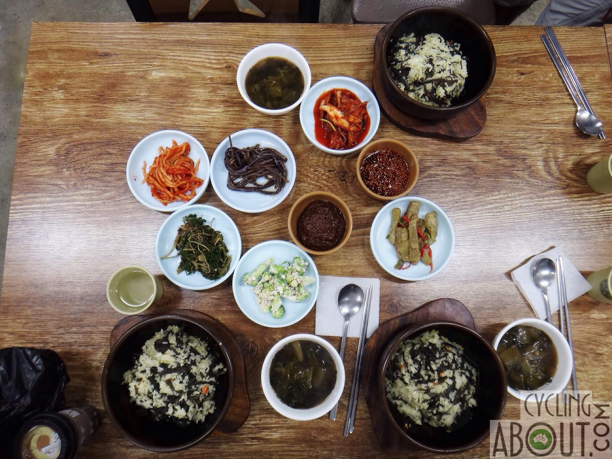 Alleykat_dinner in south korea