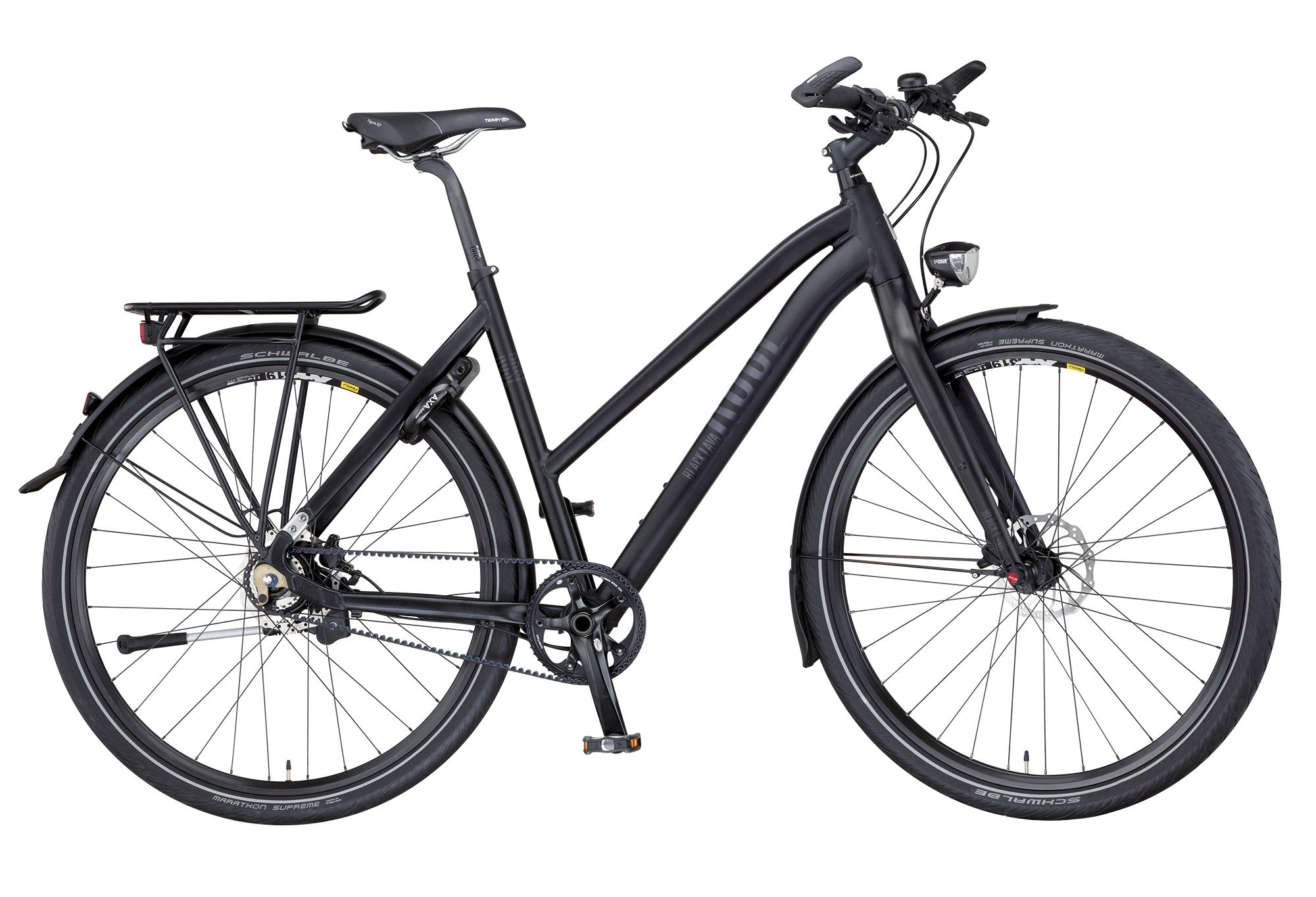 ROSE BLACK LAVA-2 Carbon Drive Trekking Unisex Sport, anodized-black