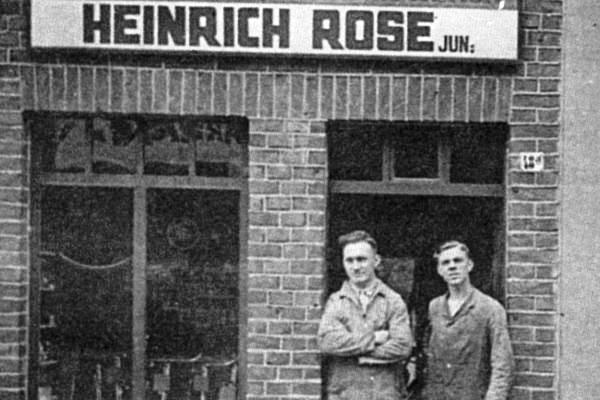 Rose historic photo of shop