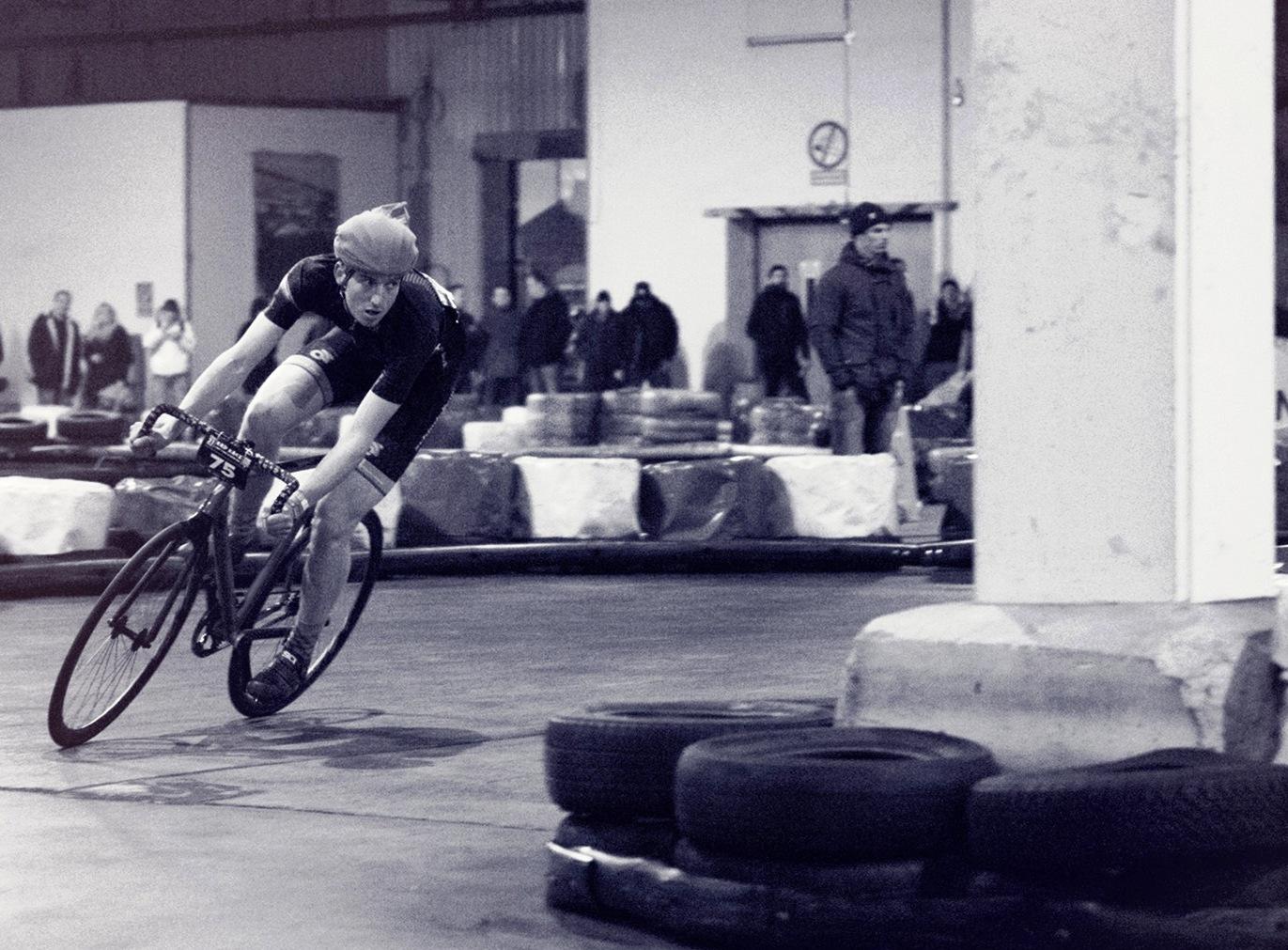 Schindelhauer-Gates team rider cornering