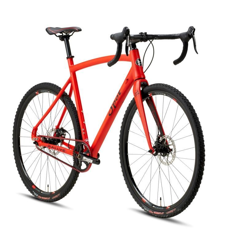Rallye red orange
