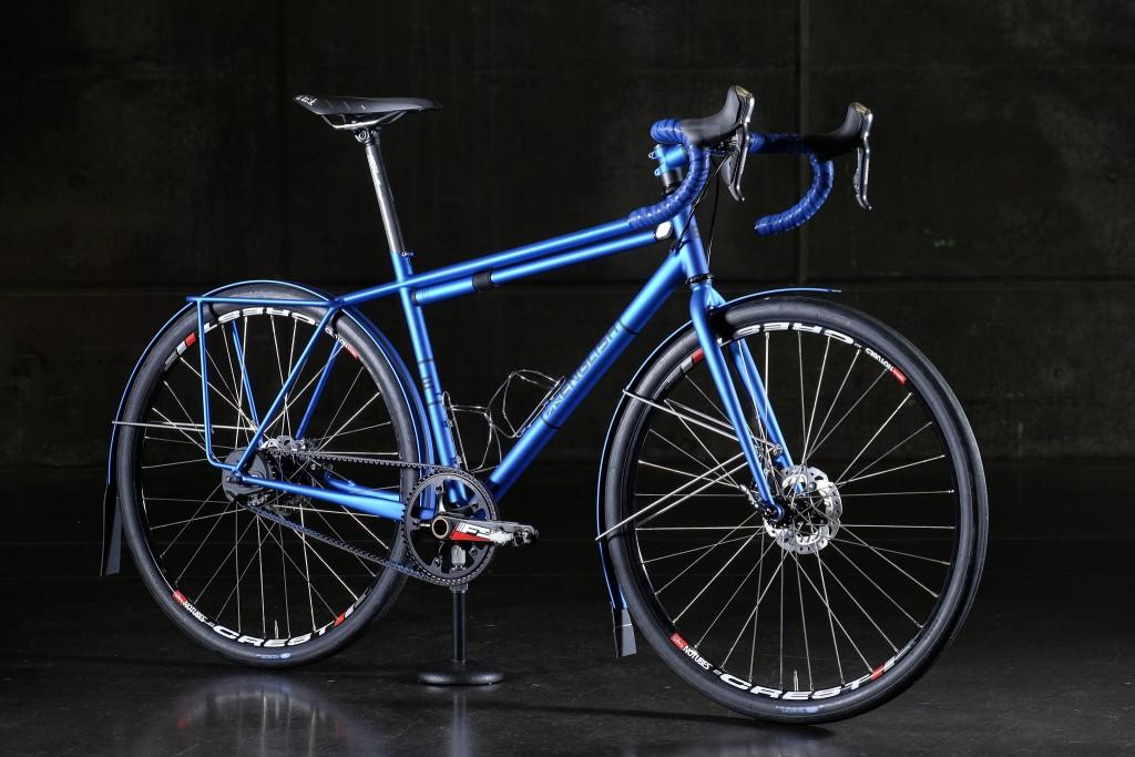 English Cycles blue bike