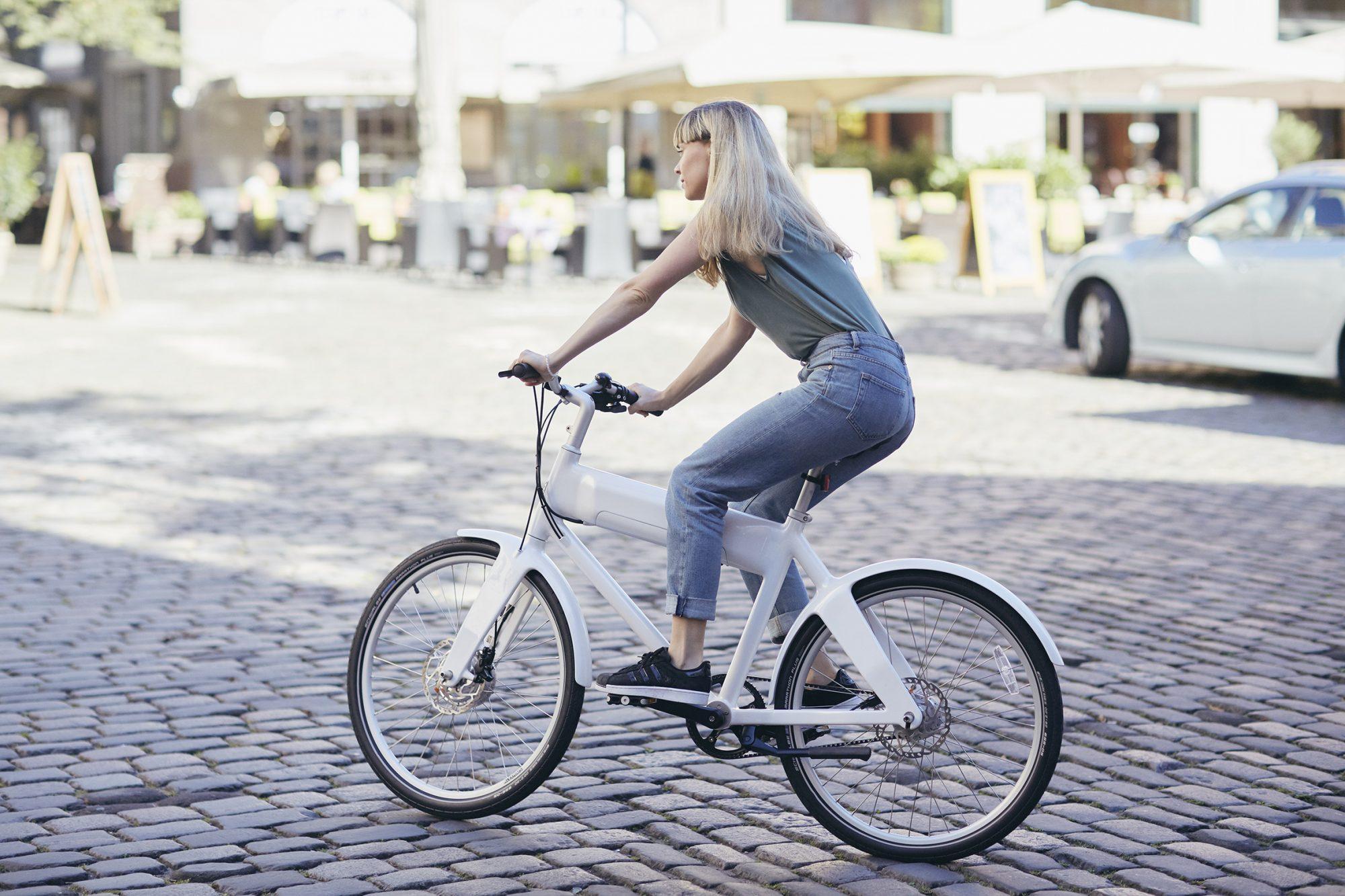 Biomega OKO with rider
