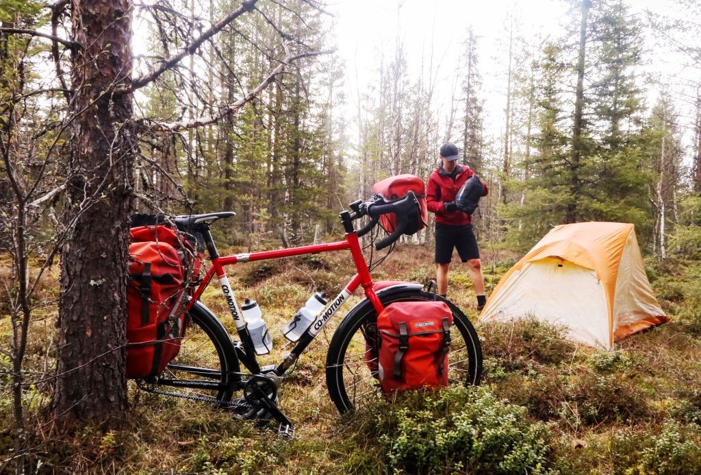 Cycling Sweden With The Bicycle Touring Pro Gates Carbon