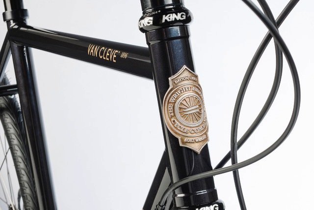 Wright-brothers-van cleve 1896-headtube badge