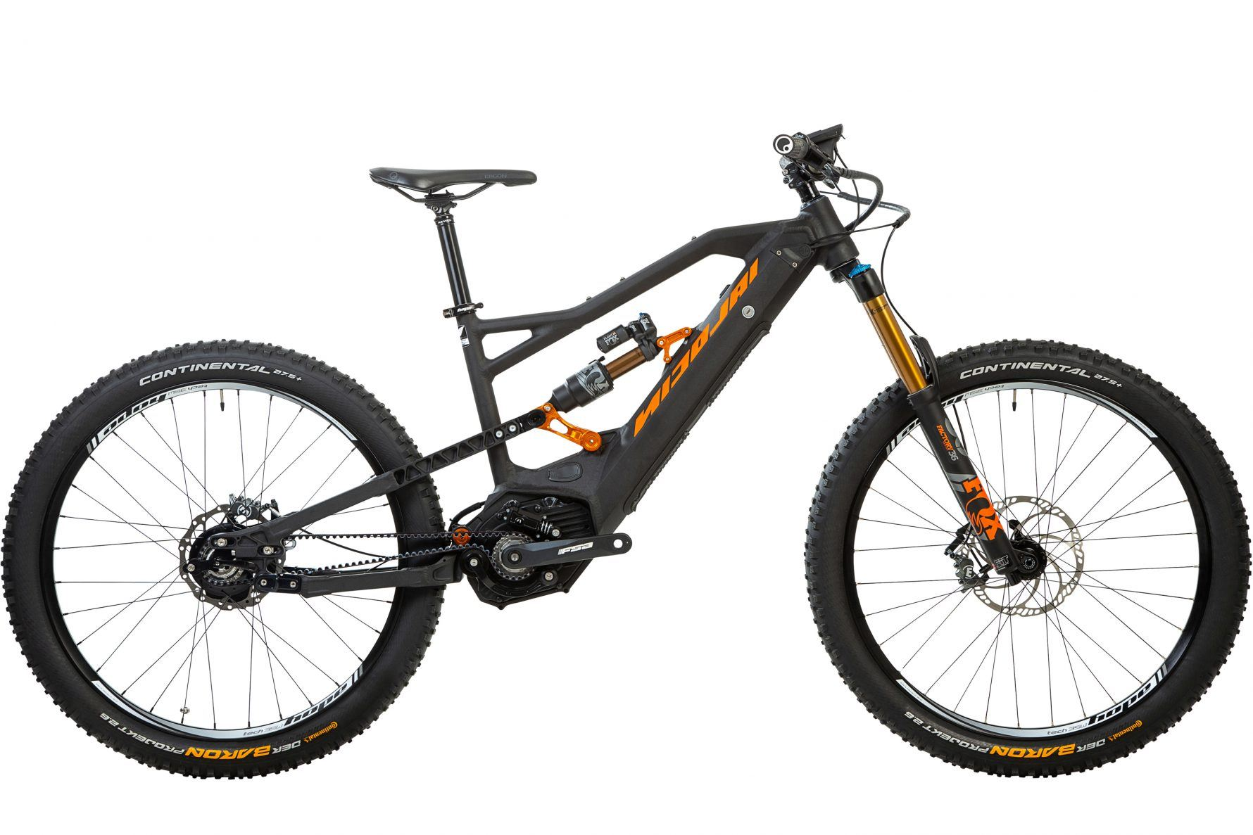 The Ion G16 EBoxx E14 from Nicolai is a super charged trail slayer