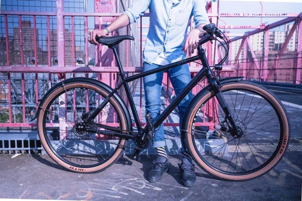The 600 from Priority is an allroad bike for urban commuting or gravel riding