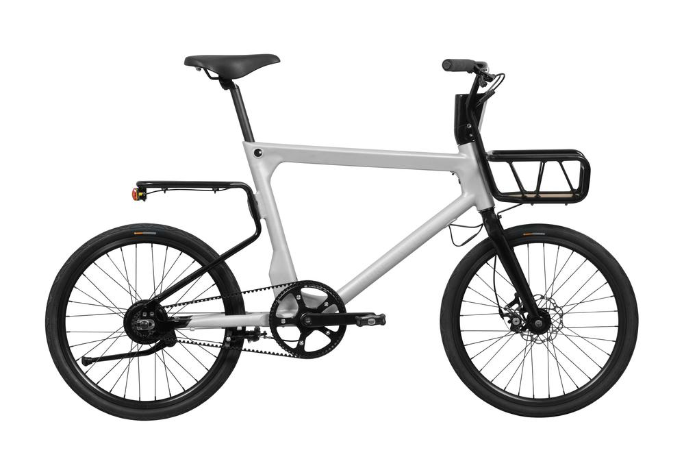 The Volta eBike from Pure: 40 miles of range, belt drive, racks and automatic head and tail lights