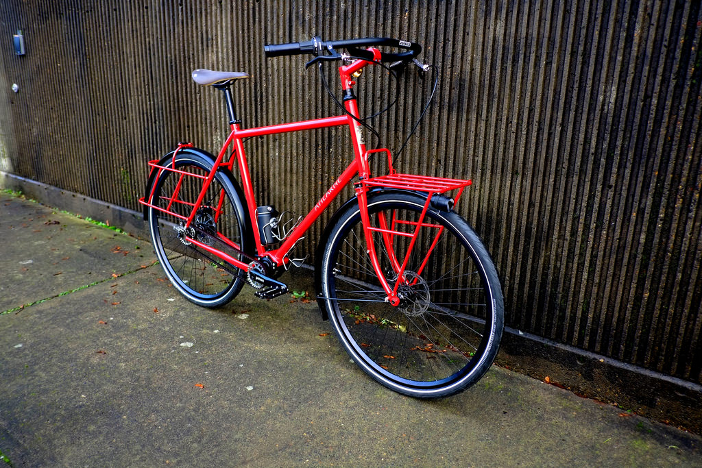 Ahearne Cycles-Ray R Pinion Touring Commuter