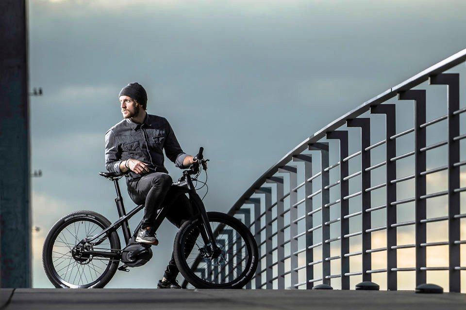The Grace MX that inspired today's integrated eBike design.