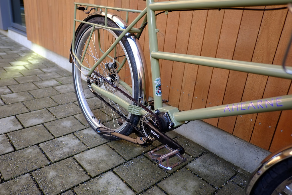 Ahearne Cycles-Pinion Cycle Truck-Pinion Gates