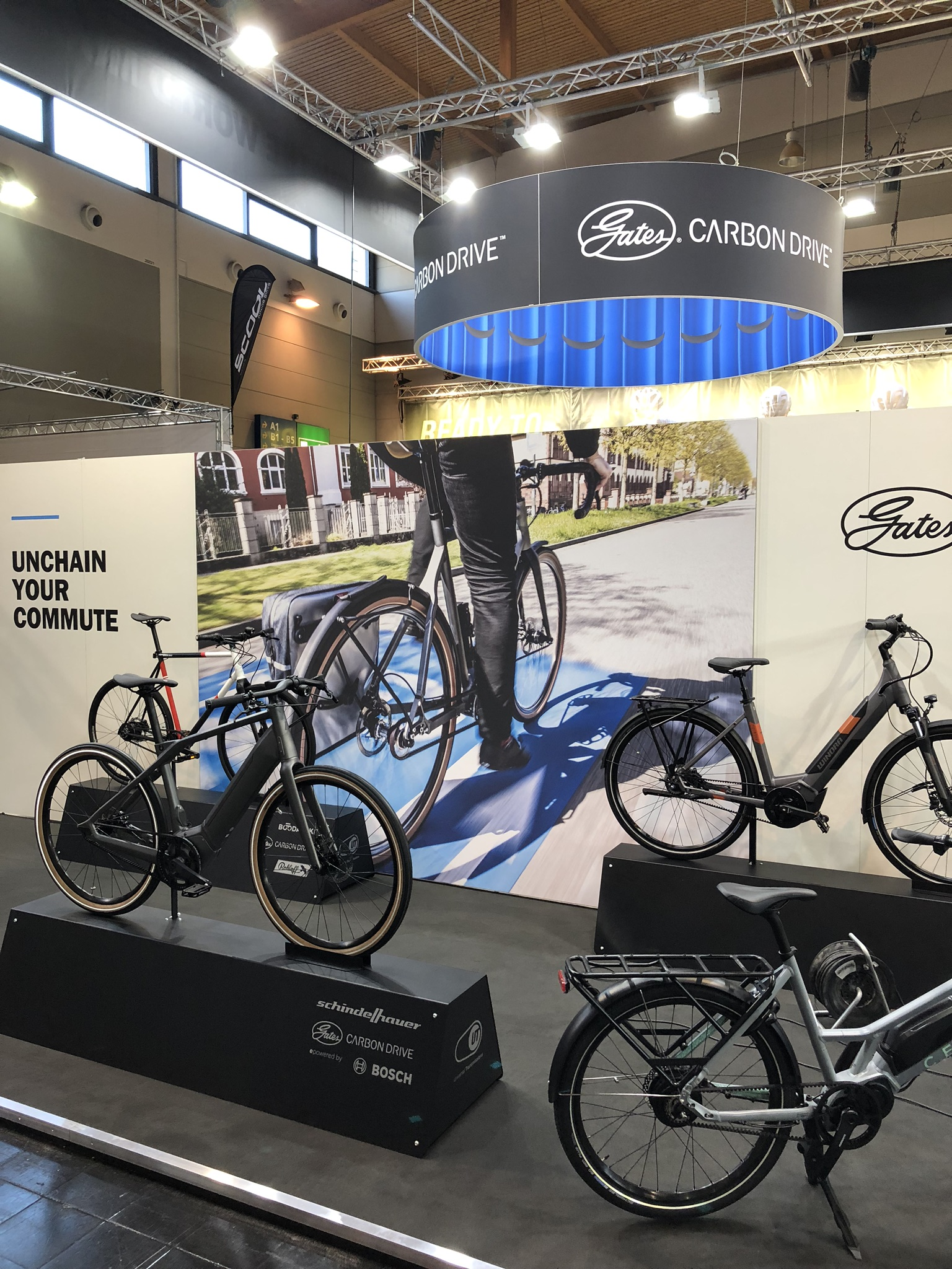 Eurobike booth-commute